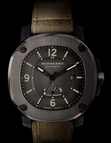 1 - Burberry Brings British Design to the Wrist