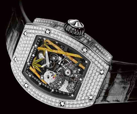 2 - Richard Mille's New 3D Panda Watch