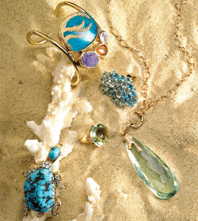 3 - Jewelry Finds: Gems of the Sea