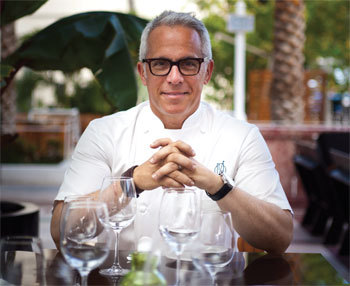 Geoffrey Zakarian Talks Tudor House