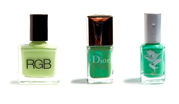 1 - Gorgeous Green Nail Polishes