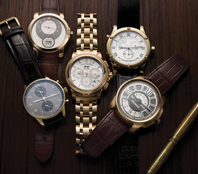 4 - Luxury Watches for Every Lifestyle