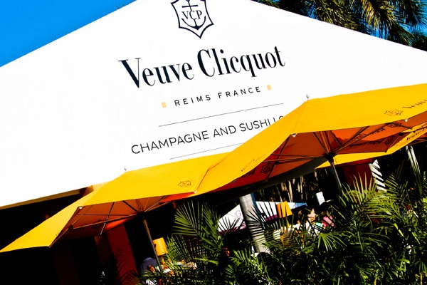1 - Veuve Clicquot Teams with Sushi Maki