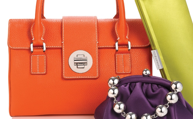 4 - The Bold New Tiffany Leather Collection