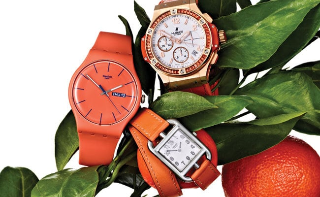 1 - A Pop of Orange for Your Wrist