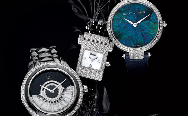 1 - Fabulous Feathered Watches