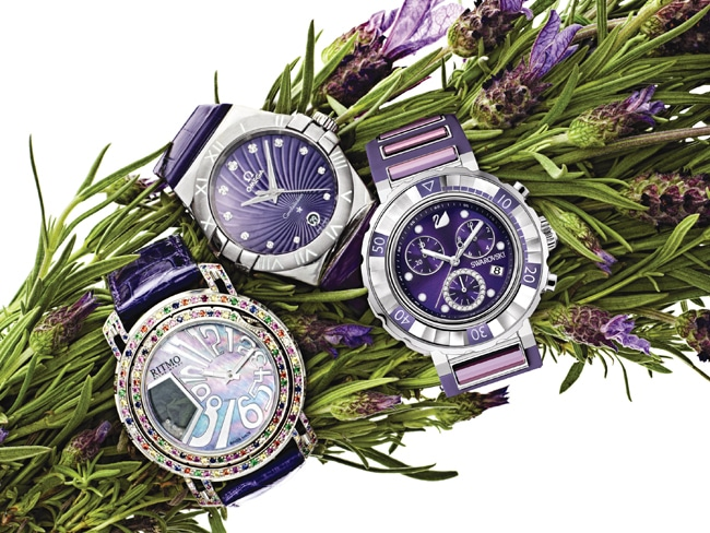 1 - Purple Watches with Panache