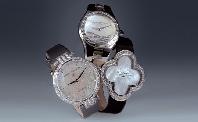 1 - Beach-Chic Mother-of-Pearl Watches