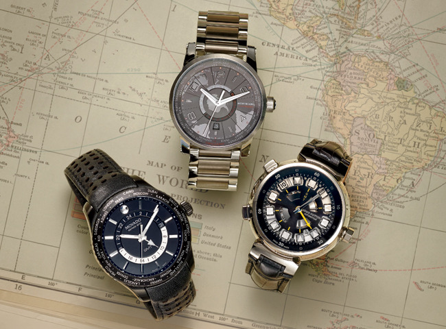 1 - World Timer Watches Entice Globetrotters