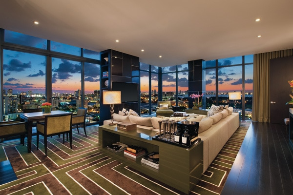 4 luxe waterfront homes - Immobilier de luxe penthouse manhattan ...
