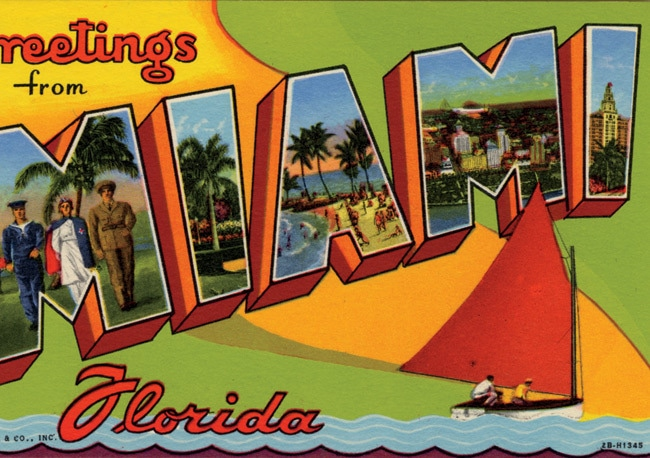 Excellent Miami History, As Told by Vintage Postcards EJ46
