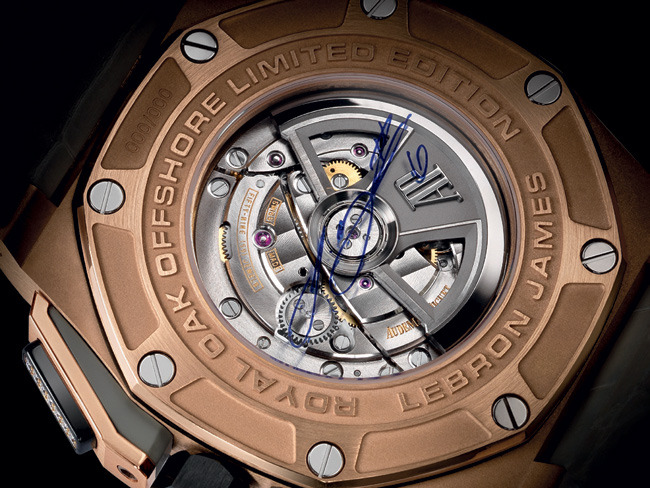 2 - LeBron James Teams with Audemars Piguet