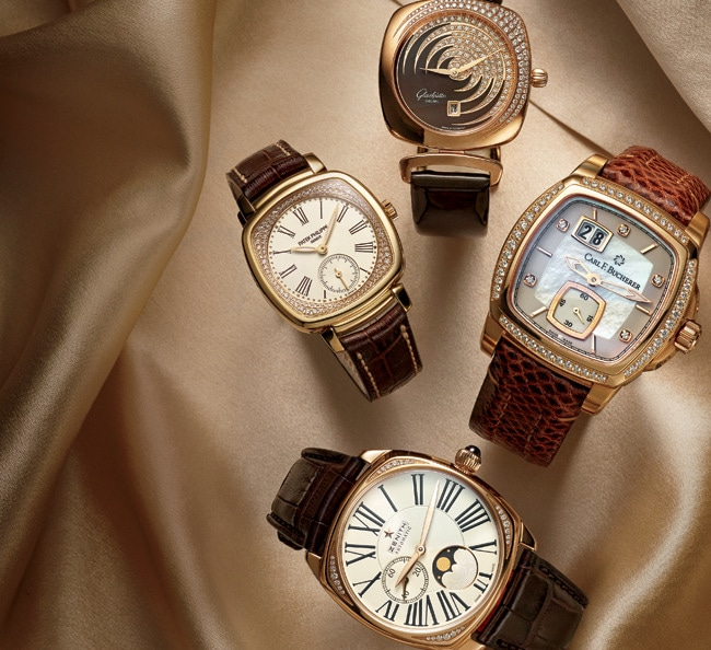 1 - Cushion-Shaped Watches Return to Fashion