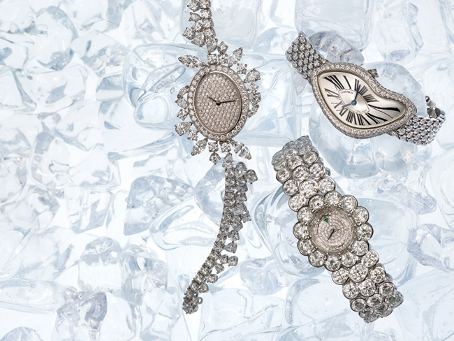 1 - Timepieces Dripping in Diamonds