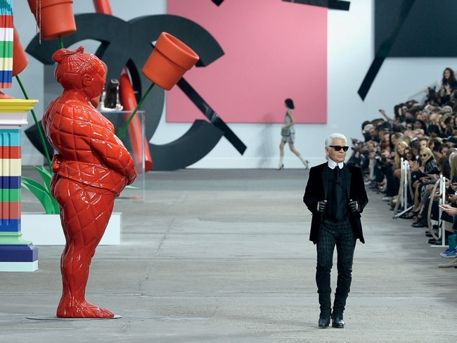 4 - Chanel Puts Art on the Runway