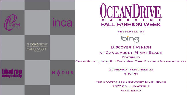 26 - Ocean Drive Magazine Fall Fashion Week