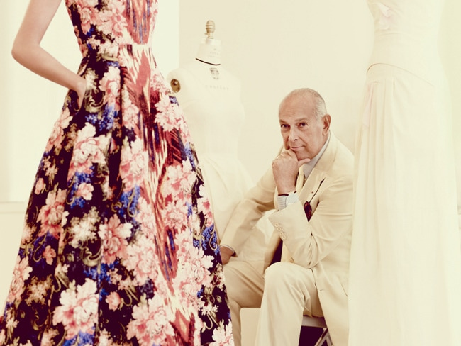 1 - Oscar de la Renta Designs for a Cure