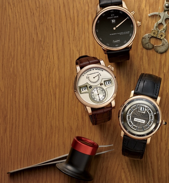 2 - Collectors Covet Jump-Hour Watches