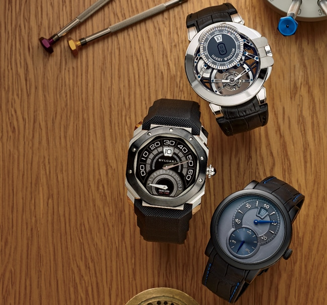 1 - Collectors Covet Jump-Hour Watches