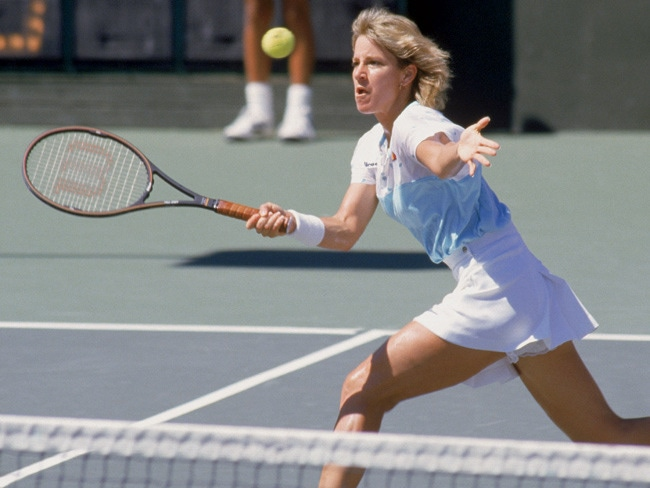4 - Tennis Ace Chris Evert Gives Back