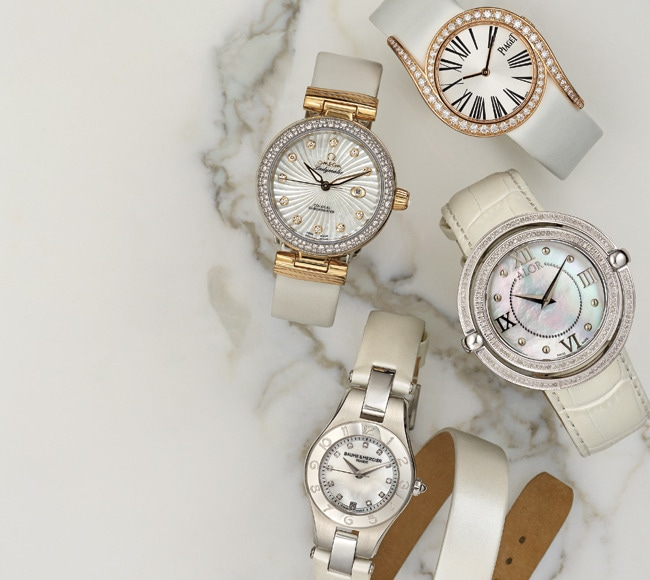 1 - Fine White Watches to Bring in Spring