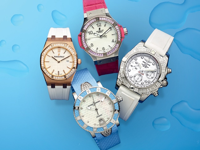2 - 9 Waterproof Watches for Pool Season