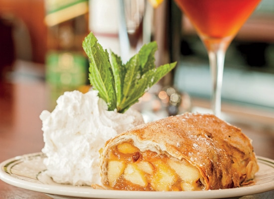 1 - Apple Strudel Done Right at Wolfgang's Steakhouse