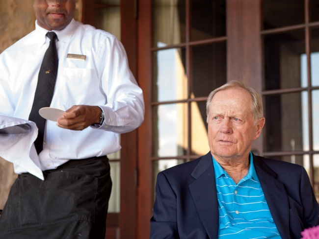 3 - Lunch at The Bear's Club with Jack Nicklaus