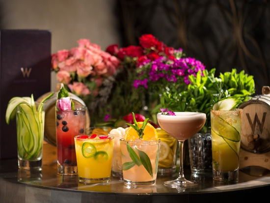 1 - Seasonal, Tableside Cocktails for a Crowd…