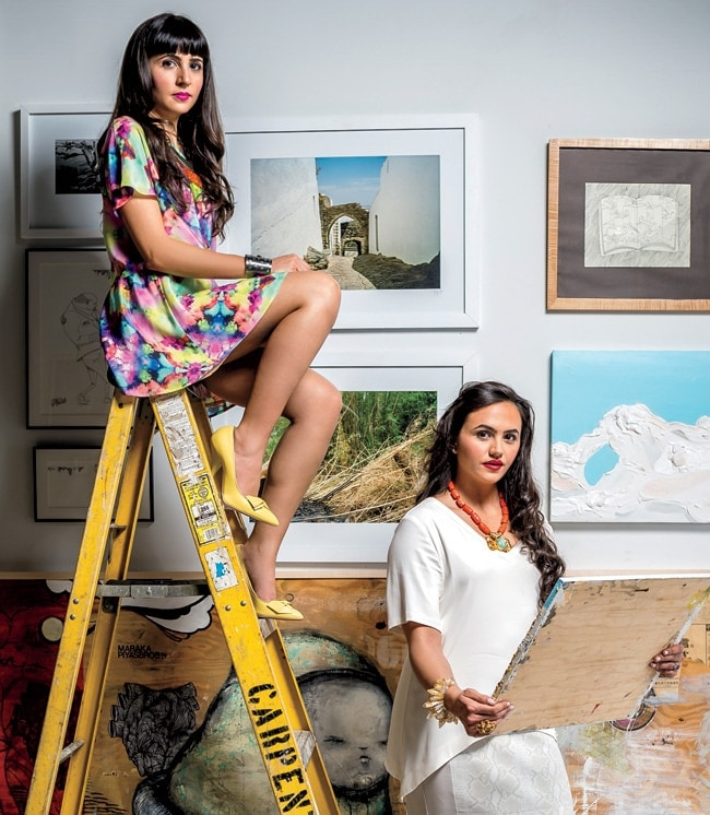 1 - Local Curating Duo Rethinks the Gallery